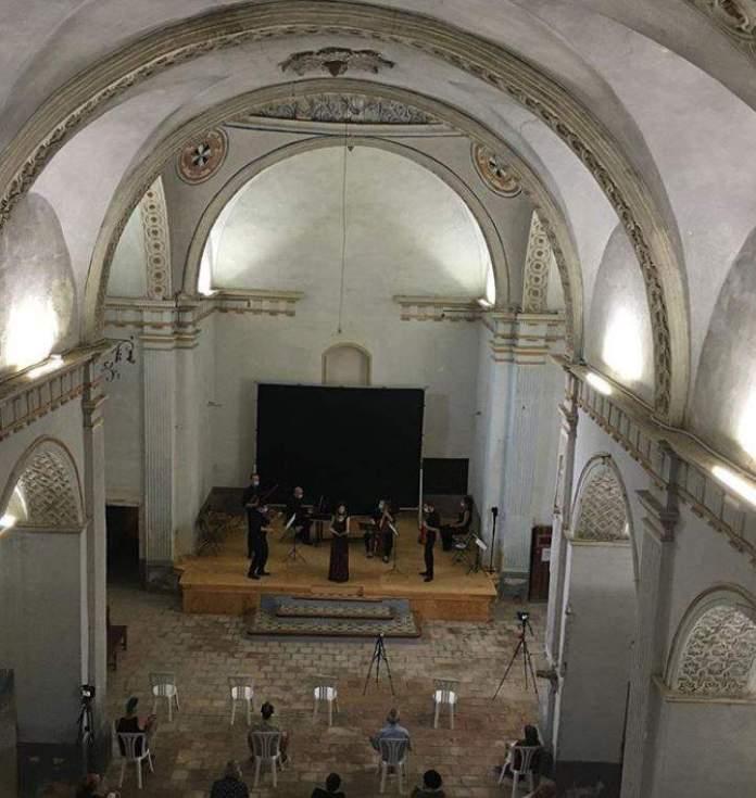 Concert de l'Estança Harmònica a Forcall