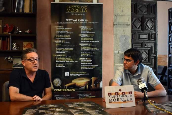 Presentació del festival a Morella