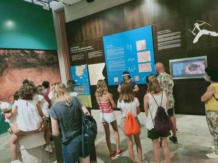 Torna l'activitat al Museu de la Valltorta, foto Museu