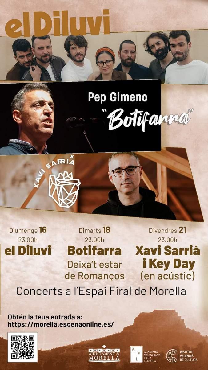 Concerts a l'Espai Firal de Morella
