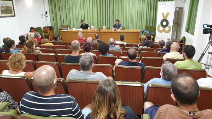 Presentació de L'esperit del temps a Vilafranca