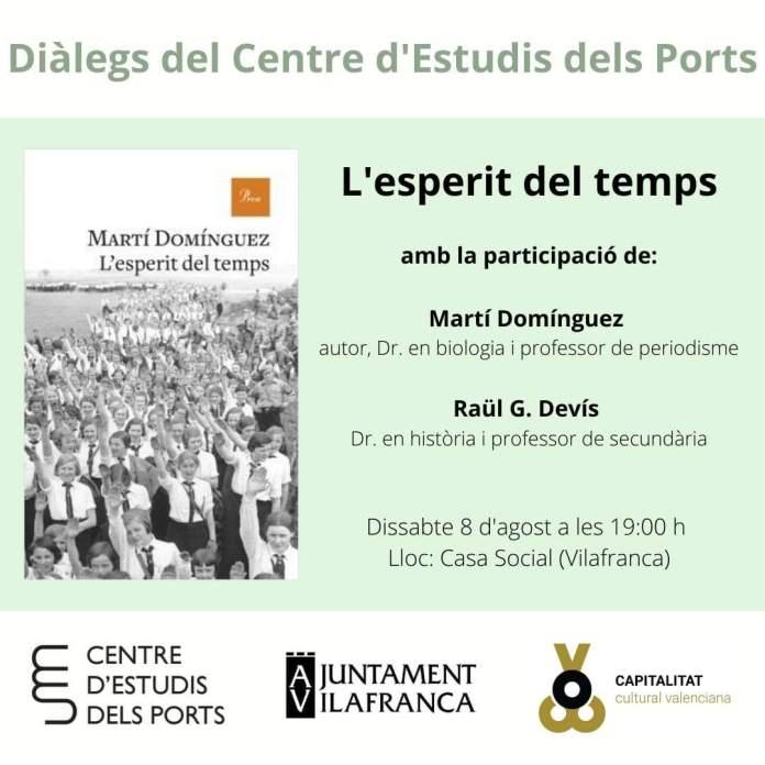 """Presentació a Vilafranca de """"L'esperit del temps"""""""