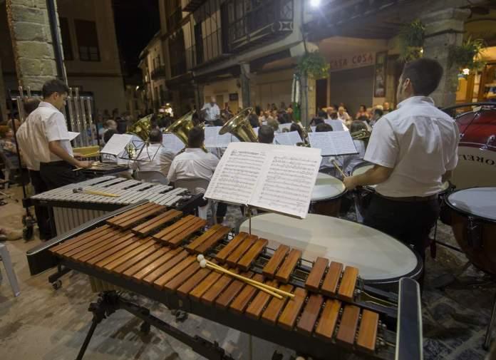 Actuació, foto Ajuntament de Morella