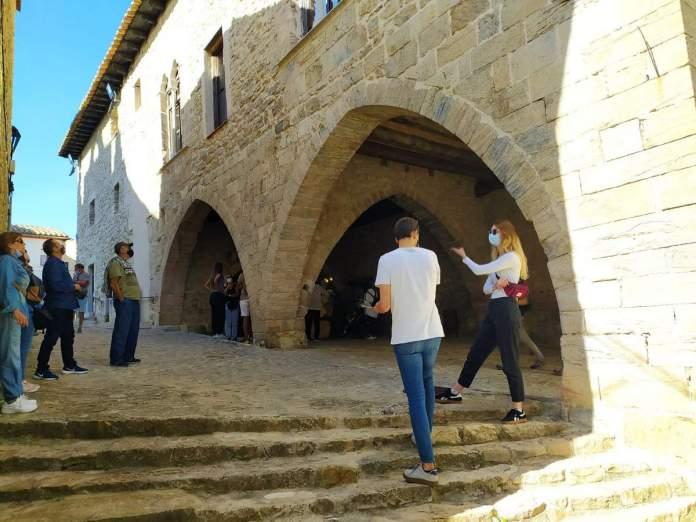 Visita guiada a Ares durant el pont