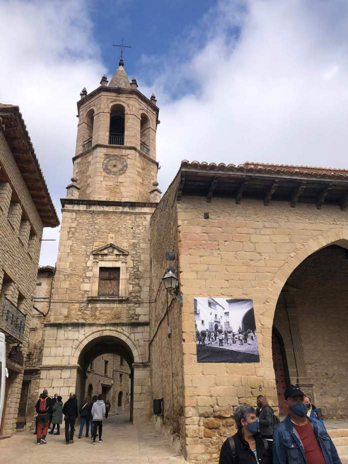 Cantavieja durante el Puente del Pilar