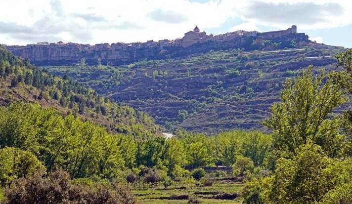 Vista de Cantavieja