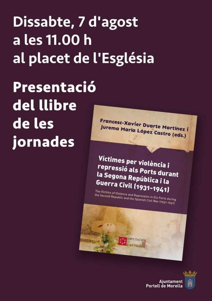 Presentació llibre a Portell
