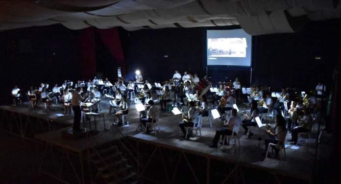 Un concert de cine de l'Associació Musical Mestre Candel
