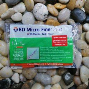 Купить инсулиновые шприцы БД МИкро-Файн U-100