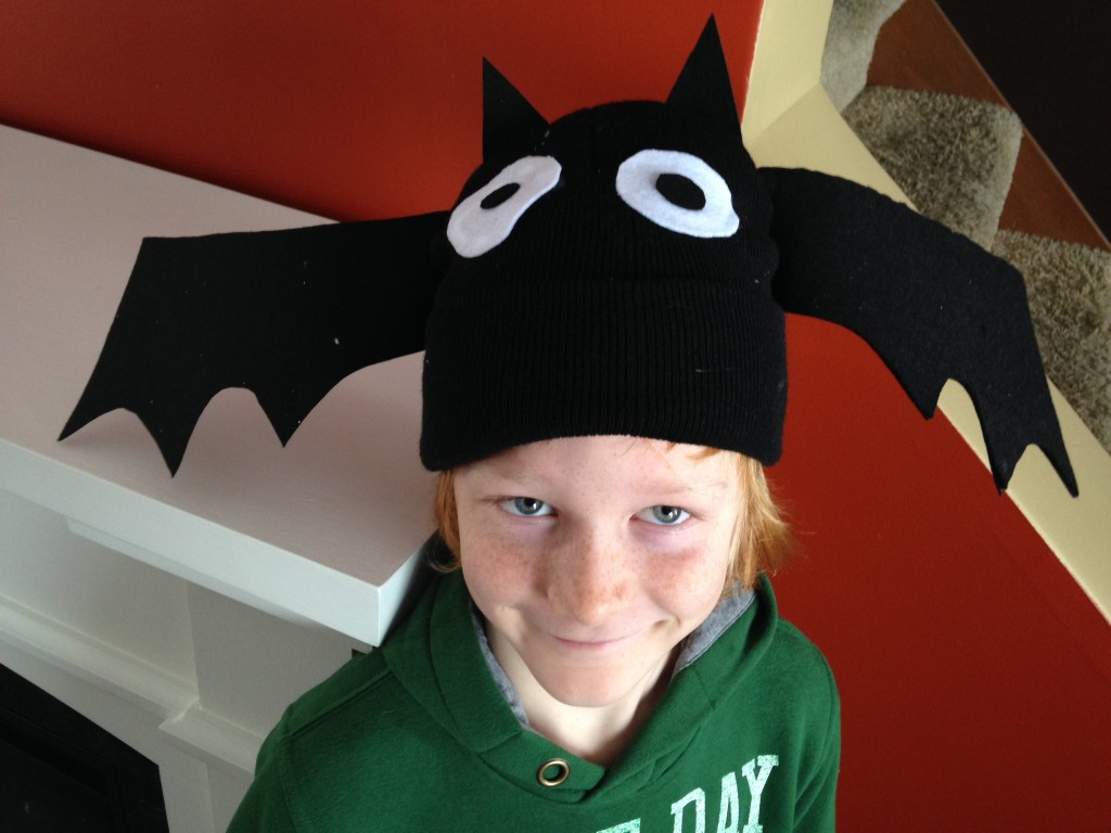 Nocturnal Animal Craft Bat Hat