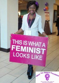 Ruby B Johnson This is what a feminist looks like