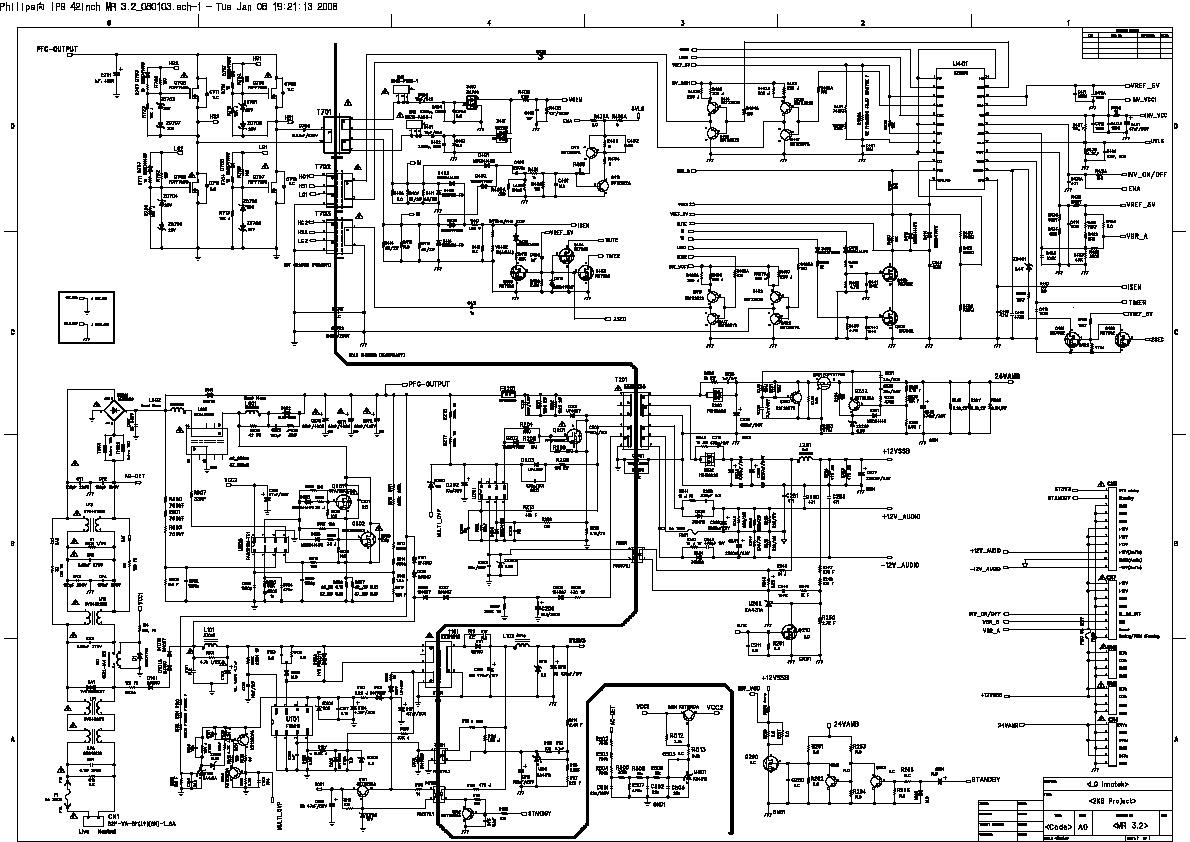 Philips Philips 42pfl Diagrama Fuente Diagramas De