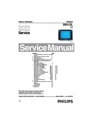 PHILIPS PHILIPS 21PT9457 55 pdf Diagramas de Televisores