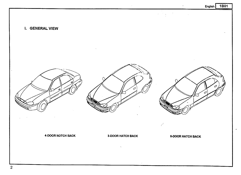 Daewoo Daewoo Lanos Service Manual Diagramas De Autos
