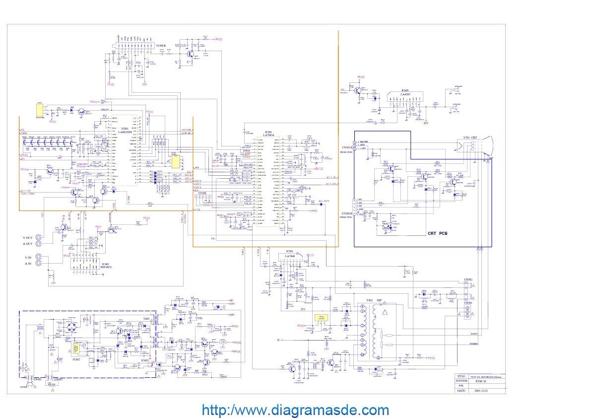 3y03 Mono Kenix Kxtv14 Kstv2 Kxtf21 Diagramasde