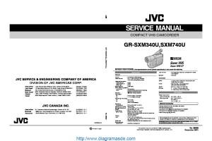 JVC GRSXM740 Manual de Serviciopdf JVC | Diagramasde  Diagramas electronicos y diagramas