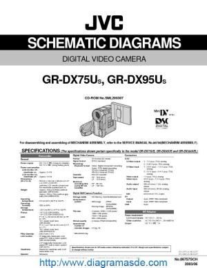 JVC Camcorder GRDX75DX95 – Diagrama Esquematicopdf JVC