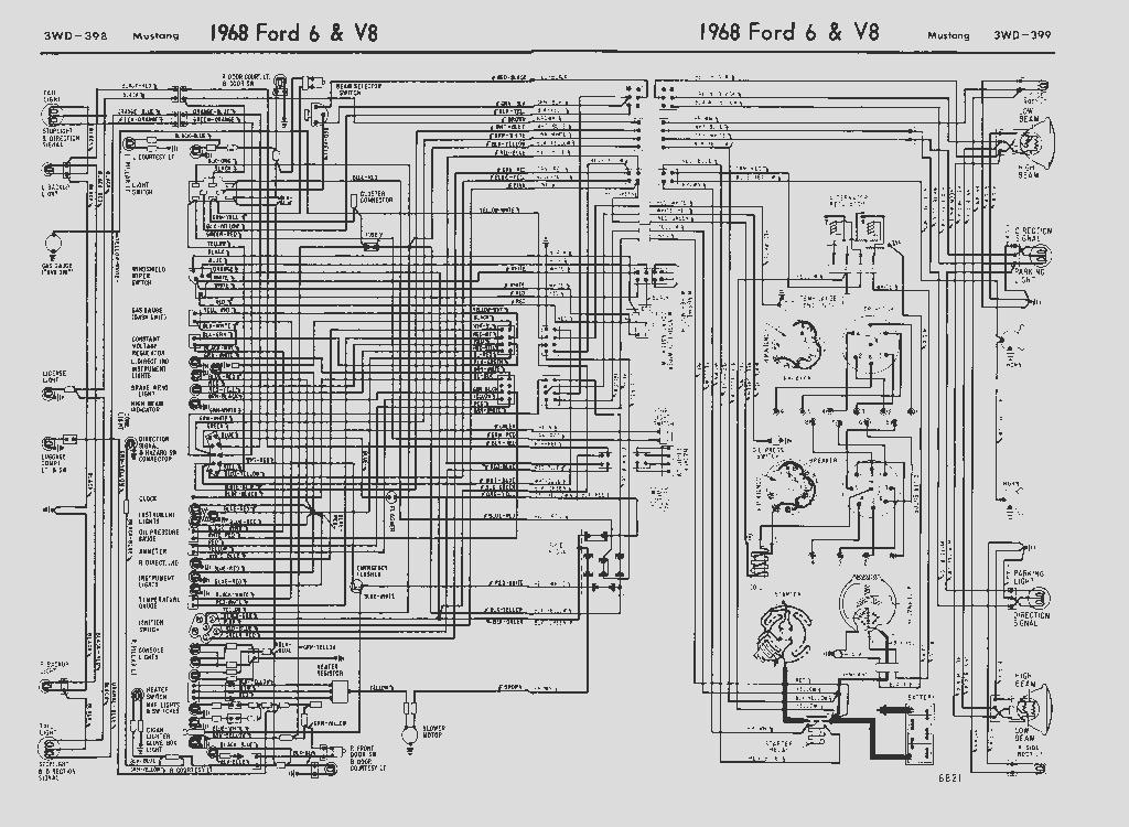 64-78 Mustang Diagrams