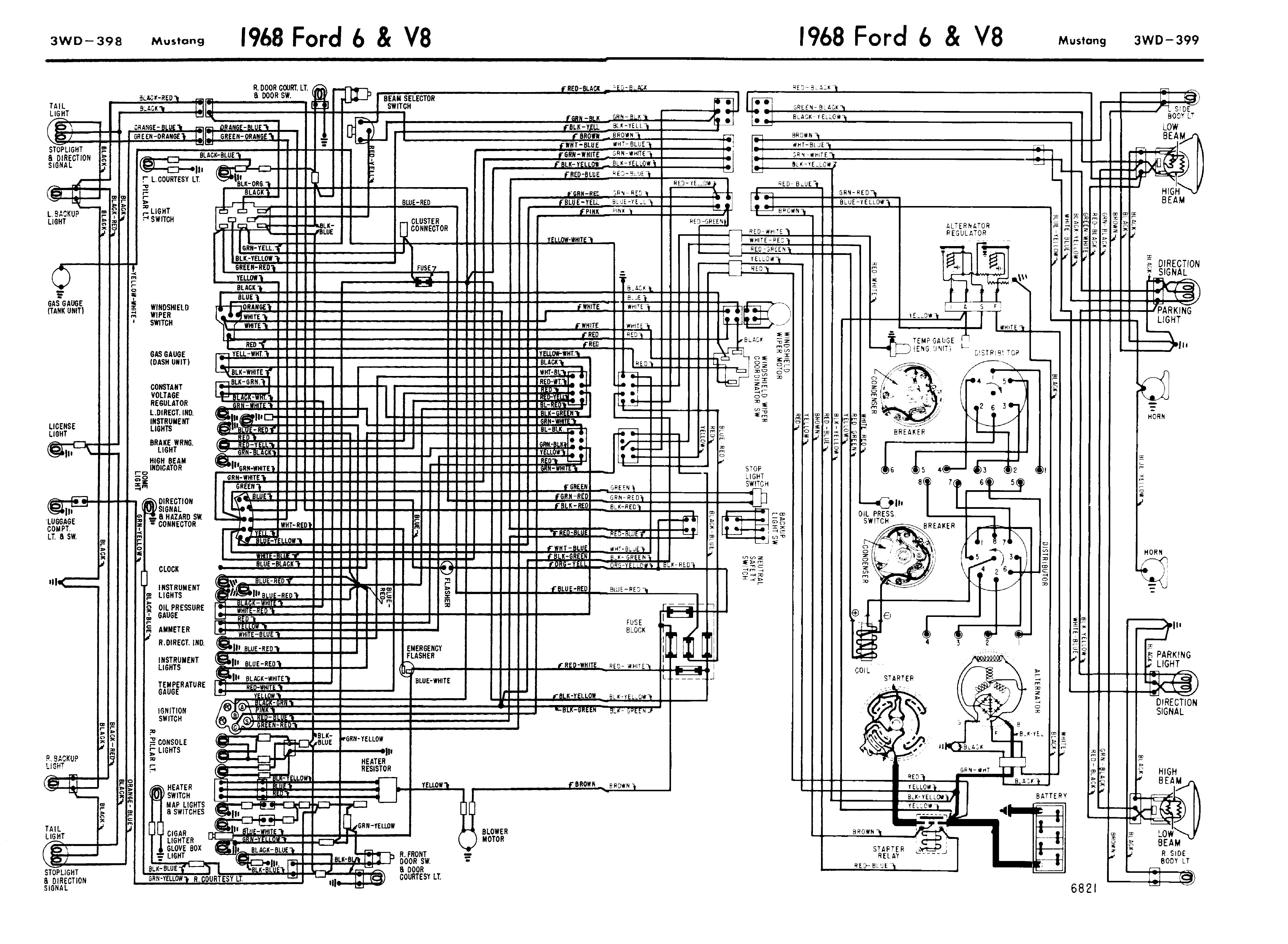 1973 Diagram Vacuum Mustang