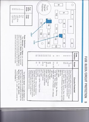 1986 Mustang SVO Fuse Block Diagram Engine Bay