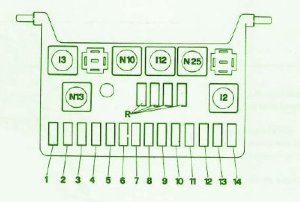1988AlfaRomeoGTV6WindowFuseBoxDiagram