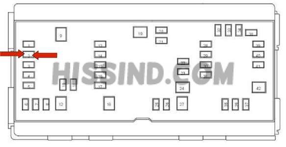2009 Dodge Ram 1500 Fuse Box Diagram Identification Location (2009 09)