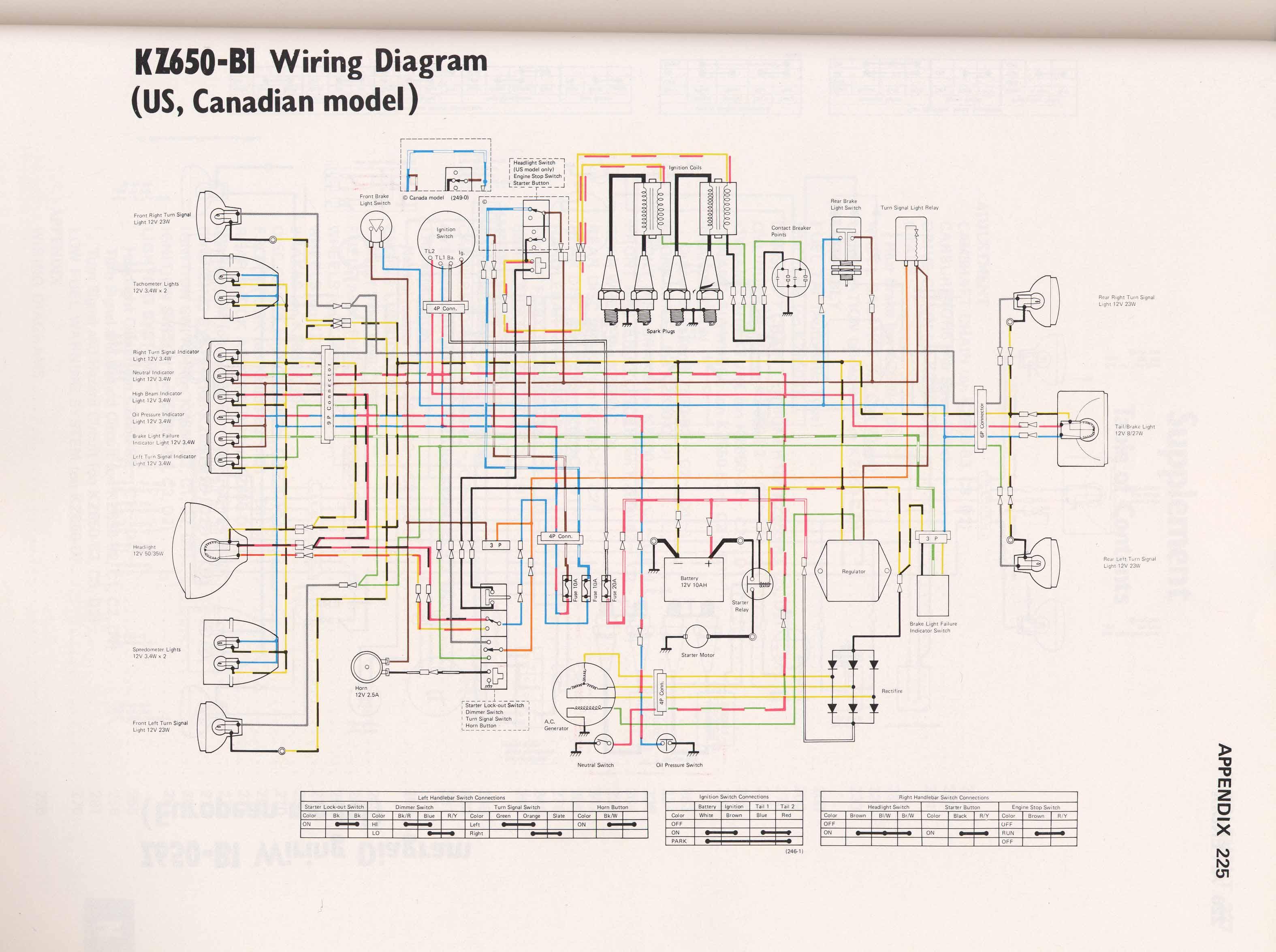 KZ650 B1?resize\\\\\\\=640%2C477 kz1000 police wiring diagram wiring diagram