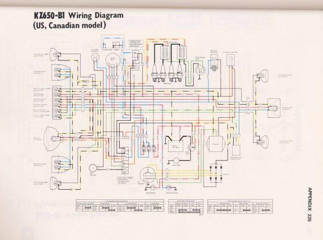 WRG-9367] 1982 Kawasaki Kz1300 Wiring Diagrams on