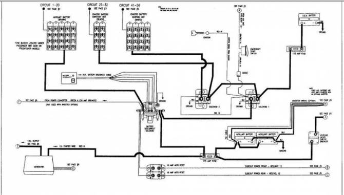 diagram fleetwood rv battery wiring diagram 1983 full