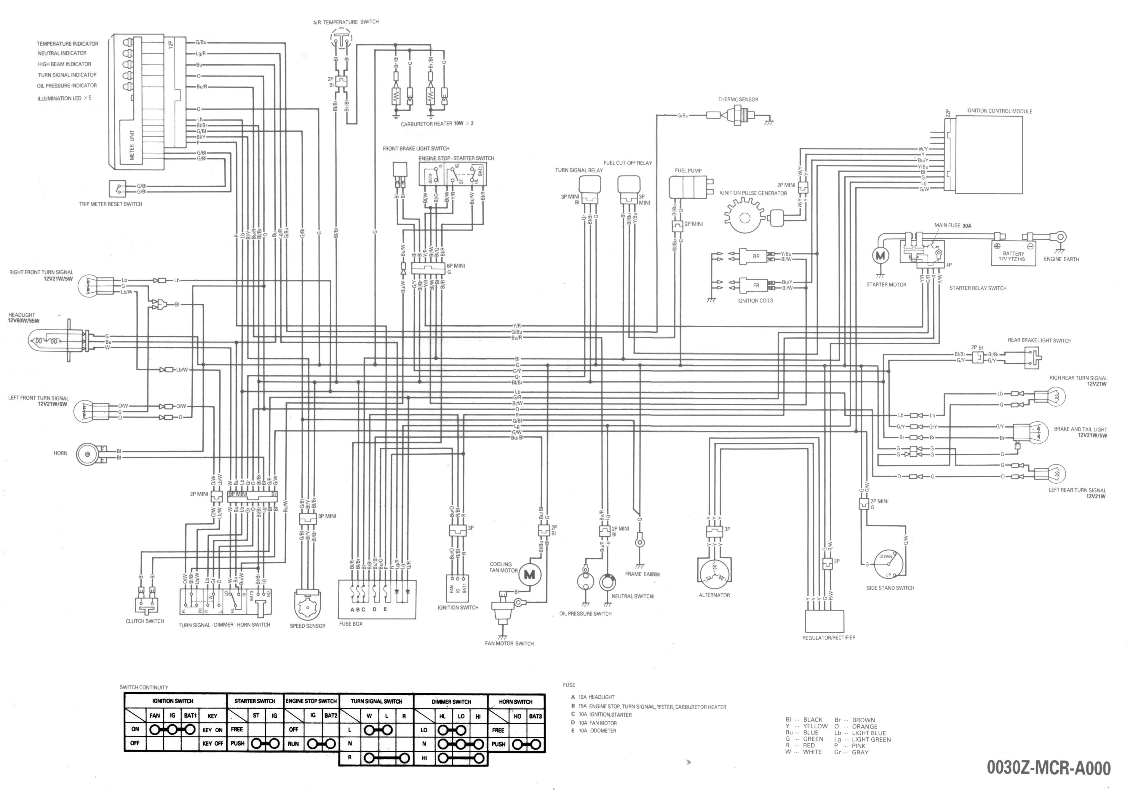 Honda Shadow Ace Vt C2 Wiring Diagram