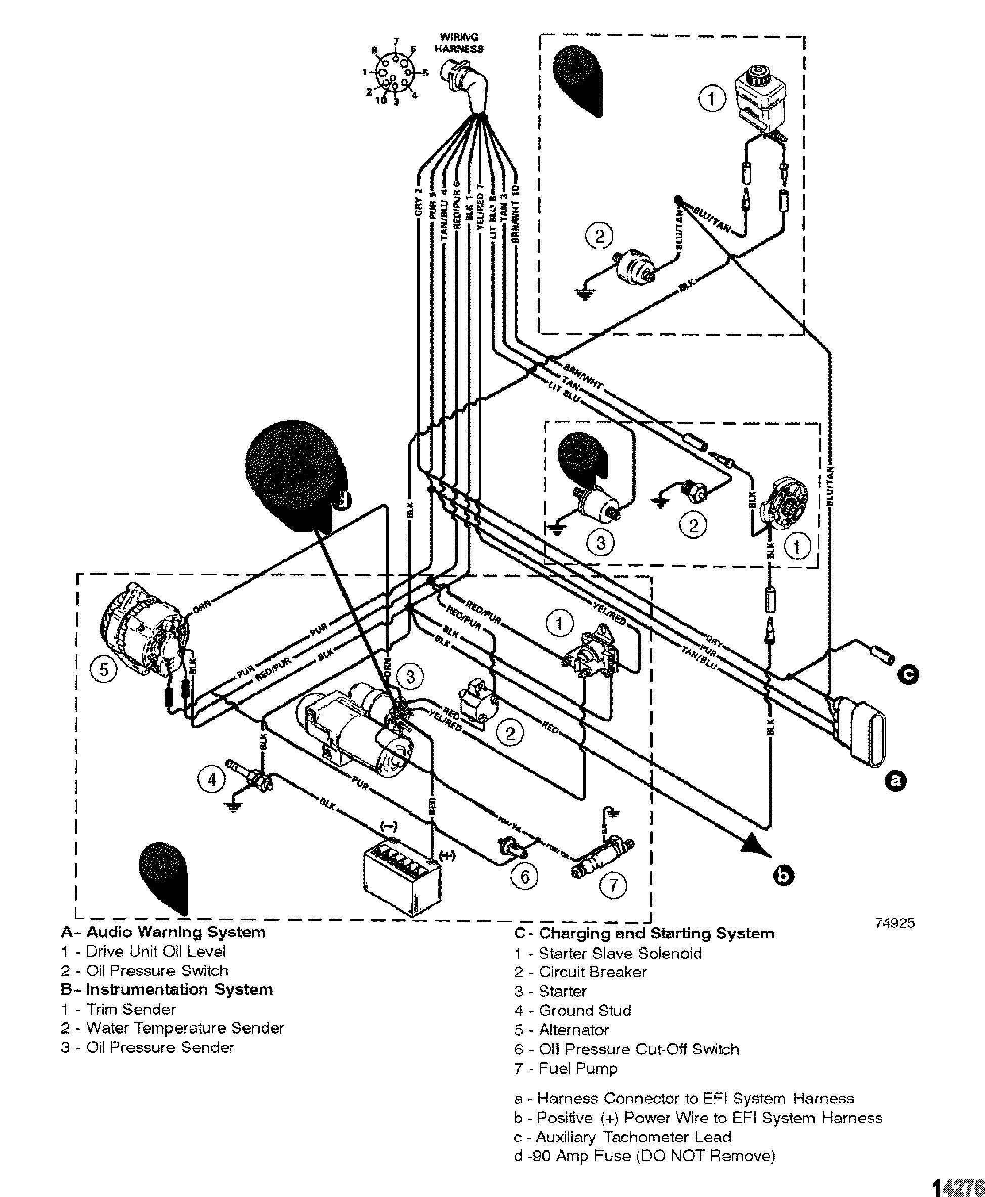 4 3 Mercruiser Oil Sensor Wiring Diagram