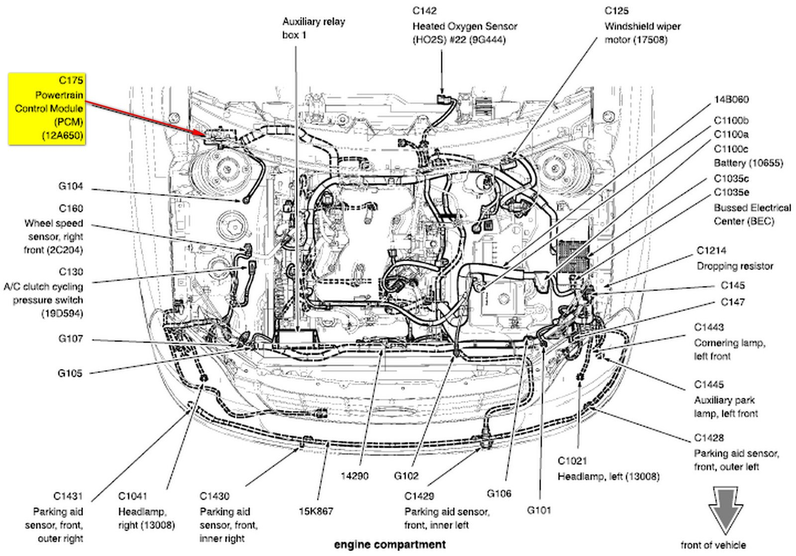 Ford Freestar 3 9 L Engine Wiring Diagram