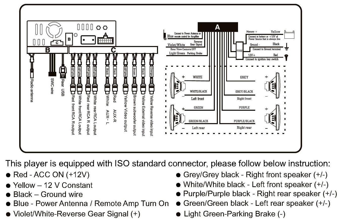 Clarion Cz105bt Wiring Diagram