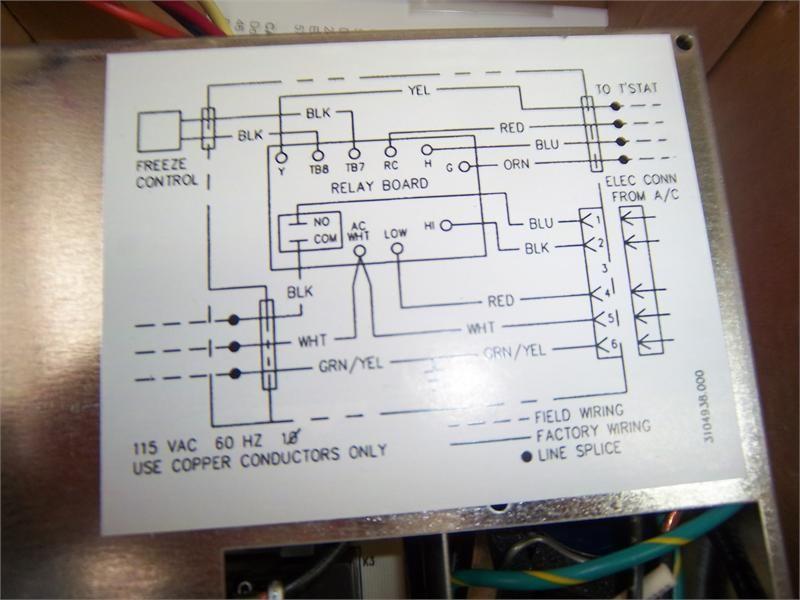 Air Conditioner Schematic Diagram