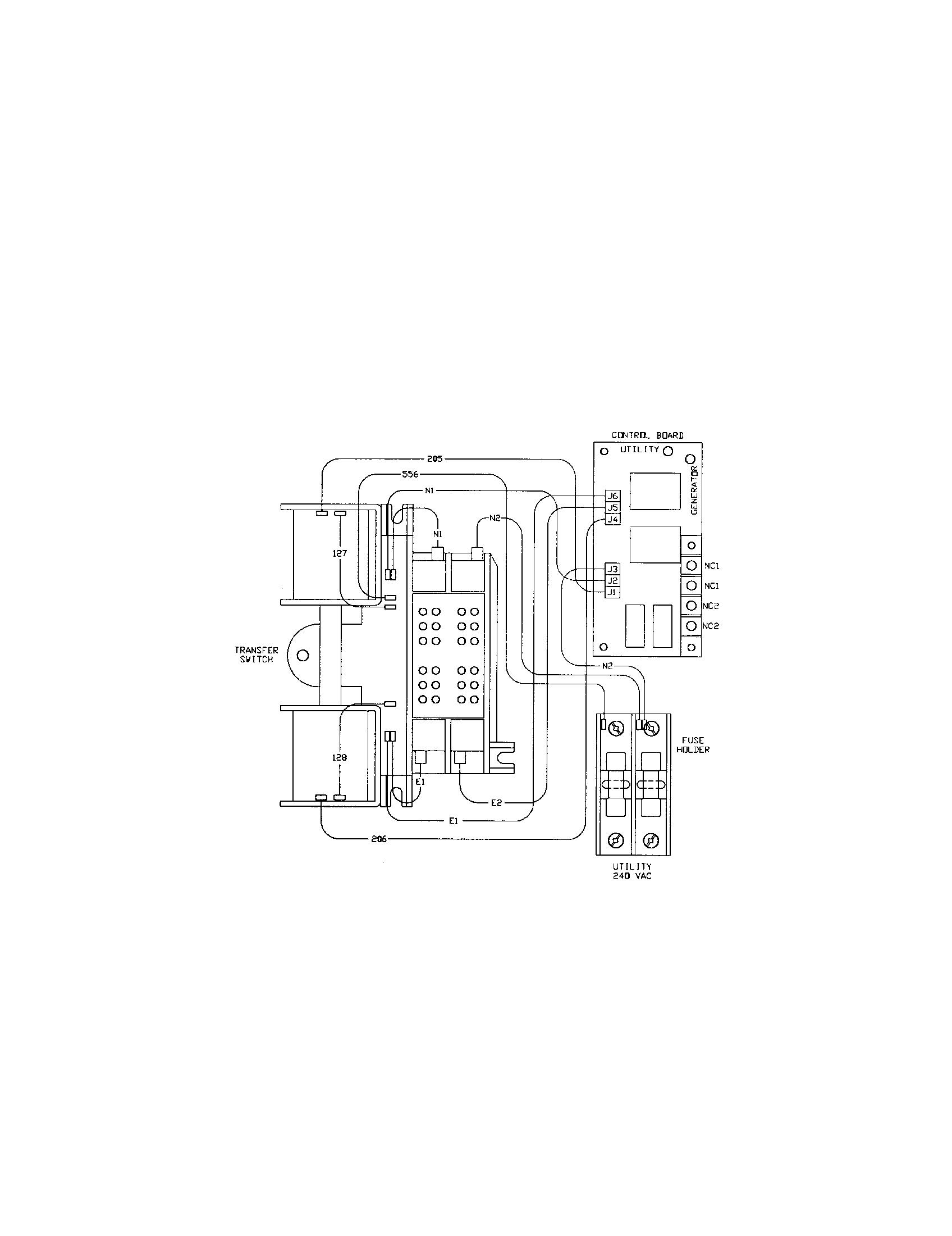 Generac Transfer Switch Model Wiring Diagram