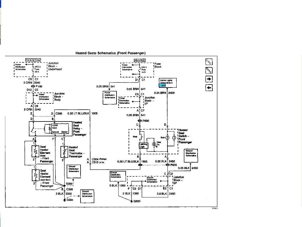 Gm Seat Switch Wiring Diagram