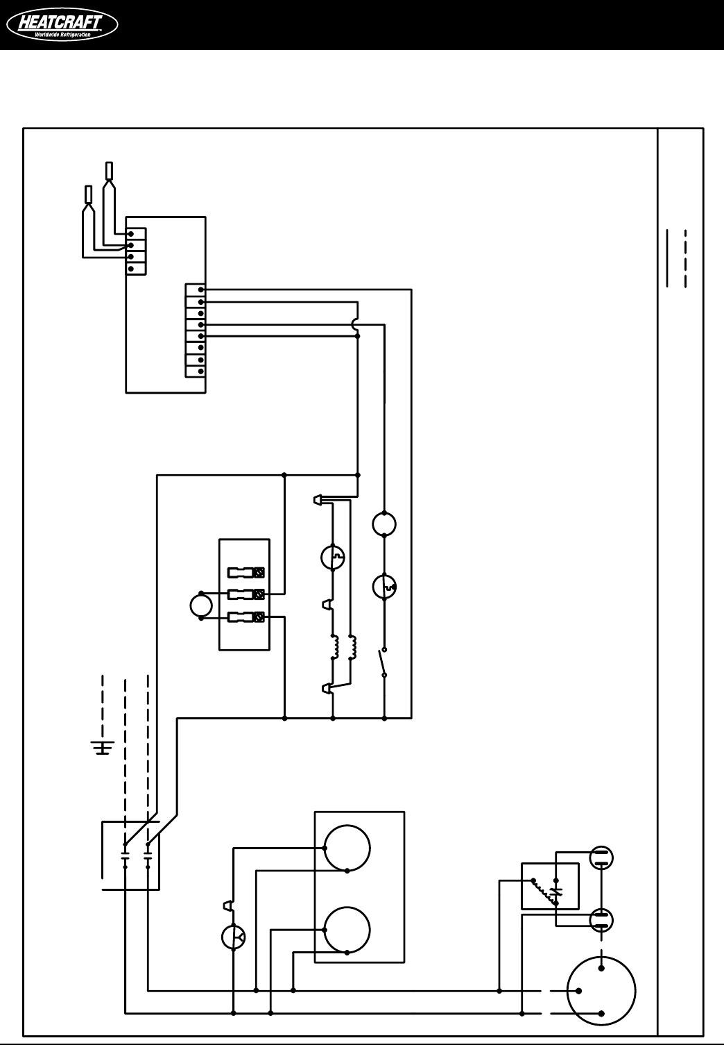 Heatcraft Freezer Wiring Diagram
