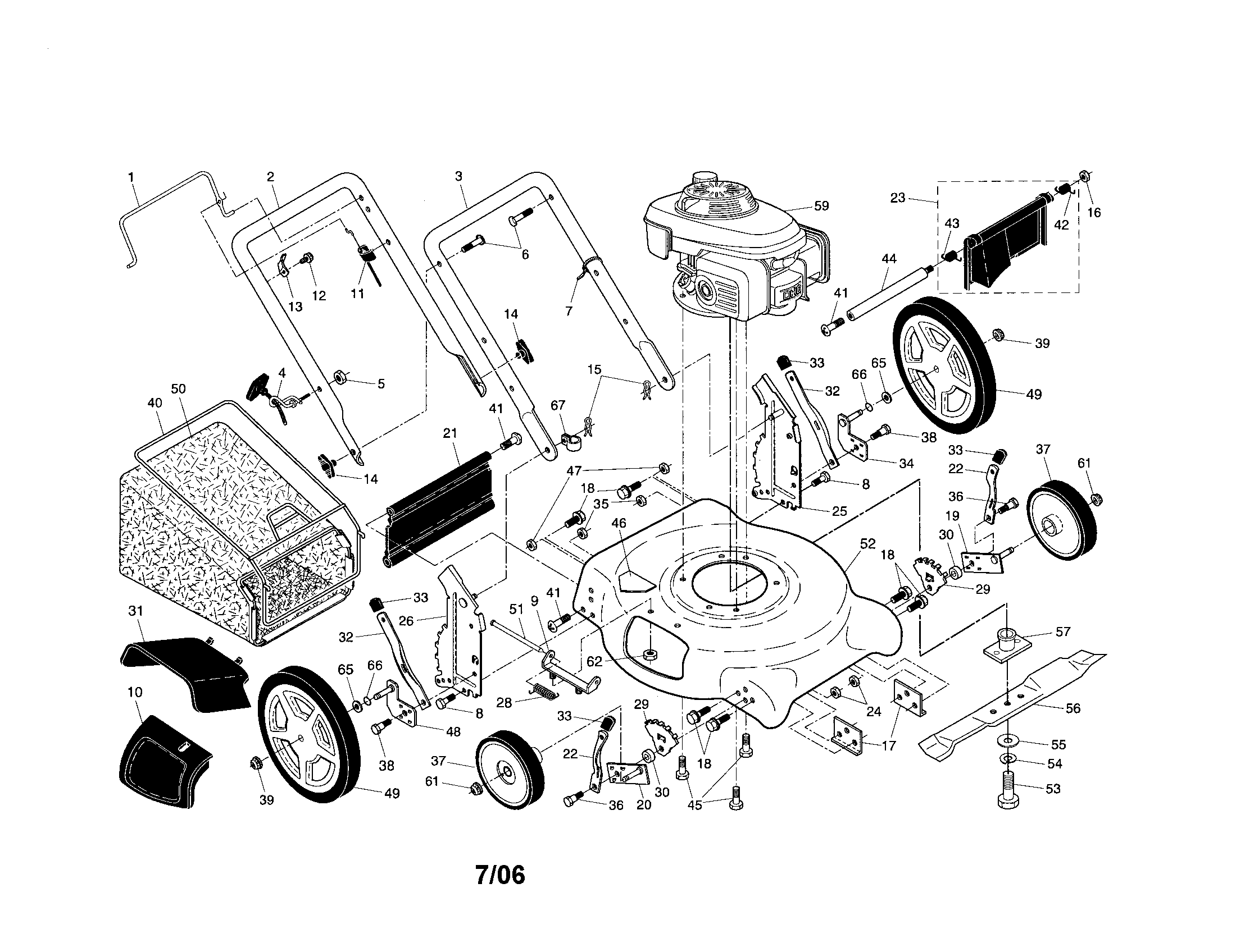Honda Hrr216vka Parts Diagram