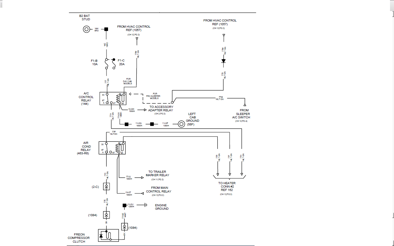 International I Wiring Diagram