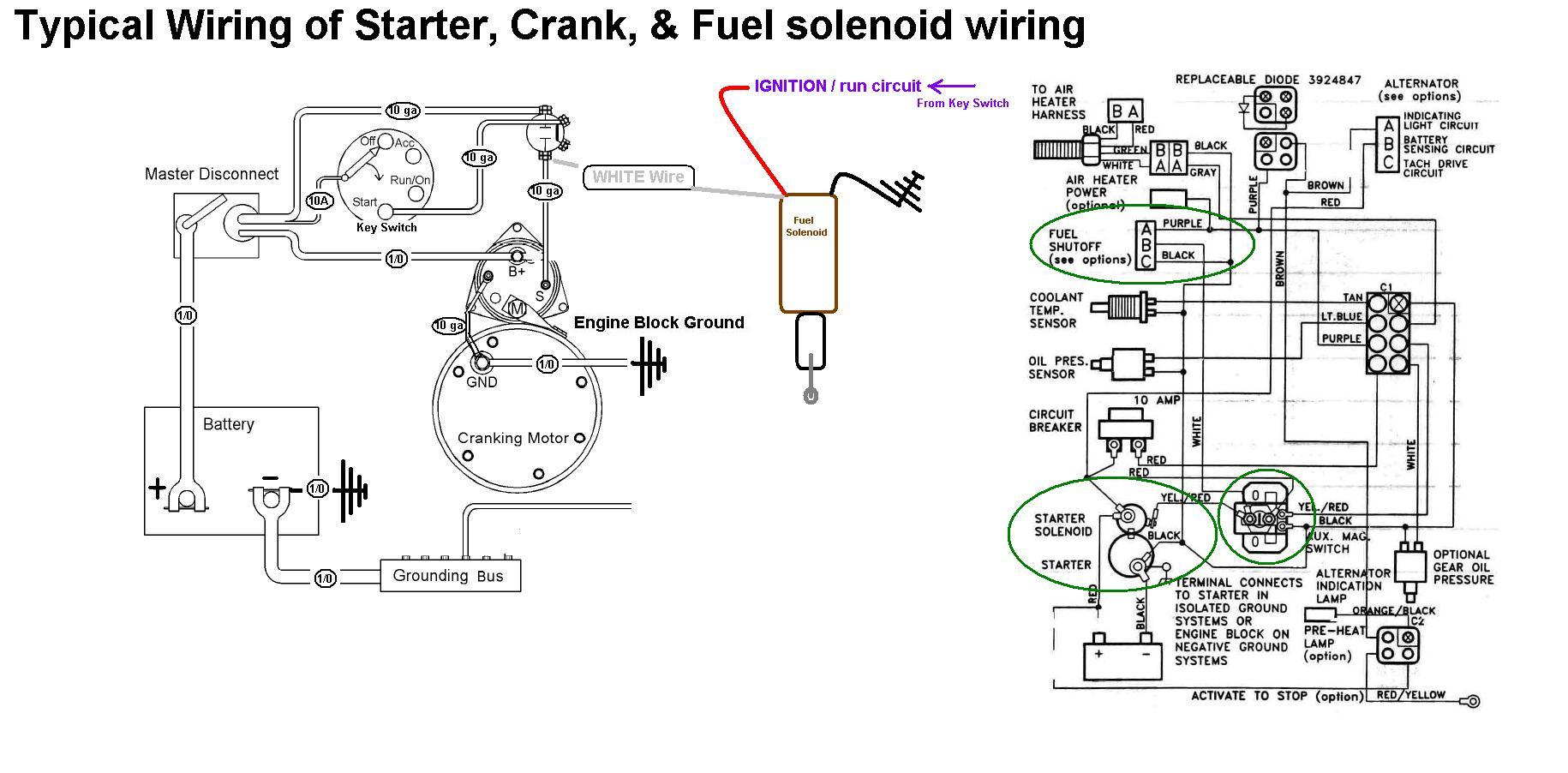 8 3 Cummins Fuel Shutoff Solenoid Wiring Diagram