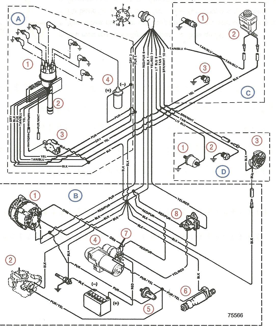 Mercruiser 4 3 V6 Wiring Diagram