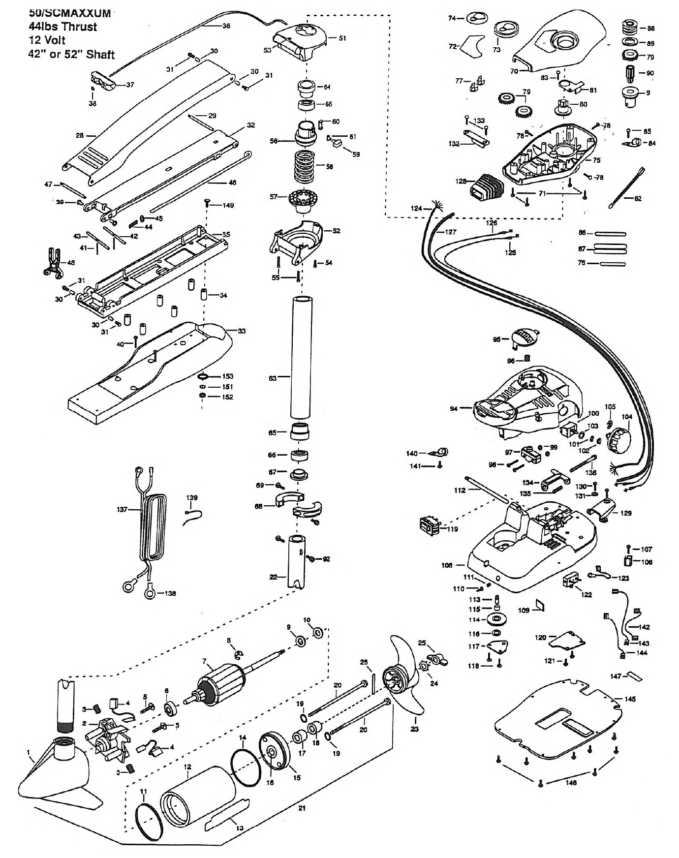 Motor Guide 45 Lb Thrust Wiring Diagram
