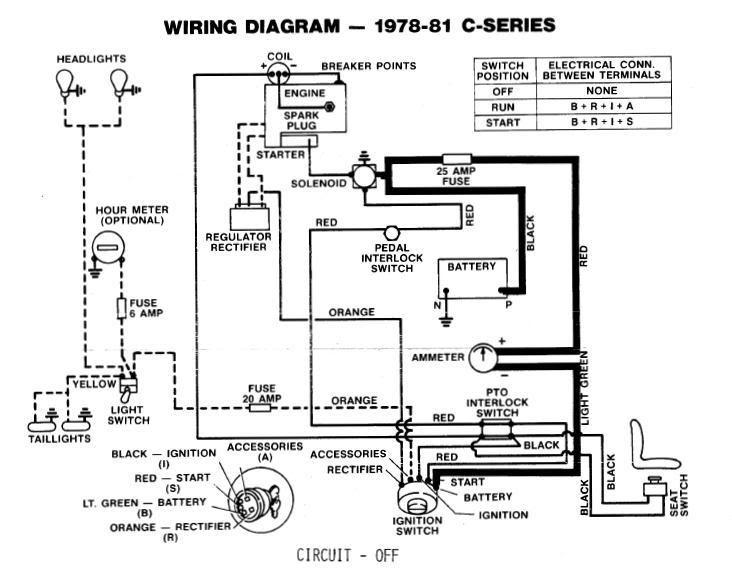 Toro 244-h Ignition Wiring Diagram