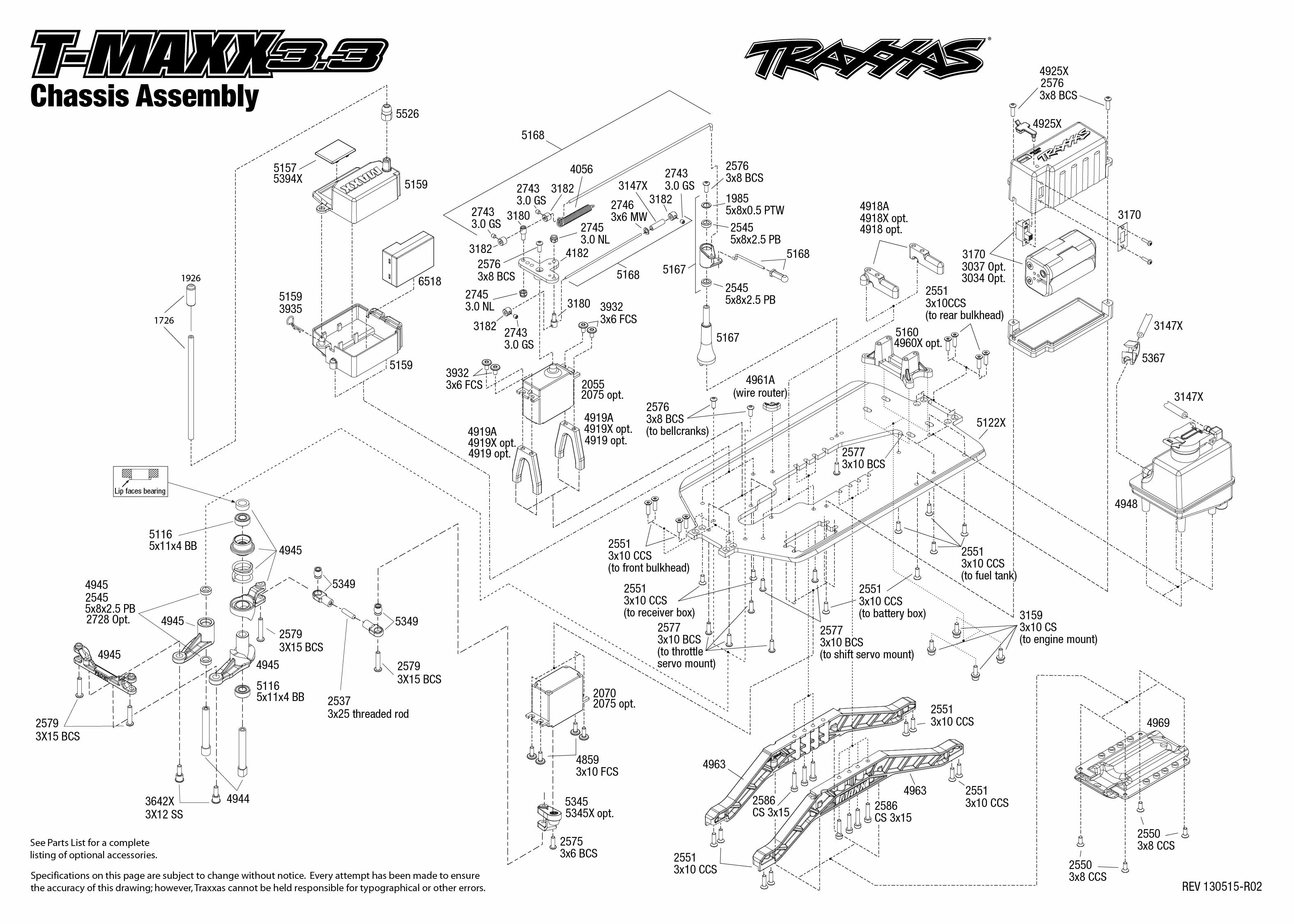 Traxxas Wiring Diagram