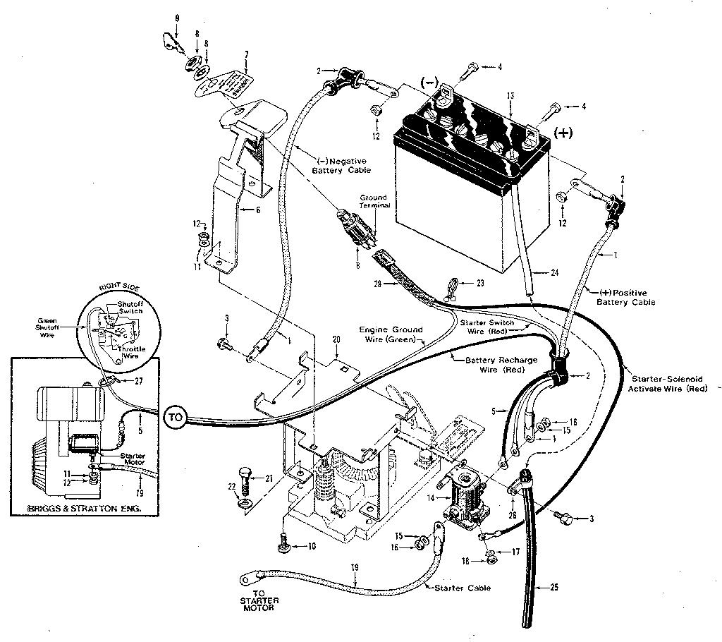 Troy Bilt Pony Tiller Wiring Diagram