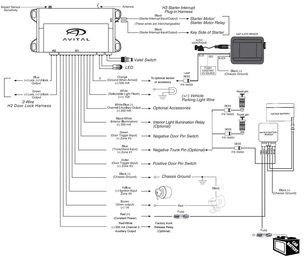 Viper Wiring Diagram