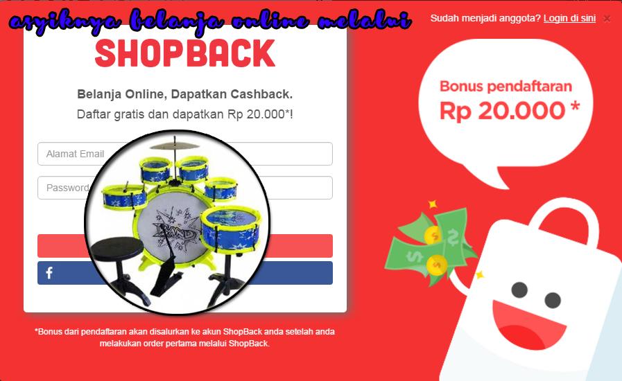 Daftar Shopback