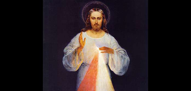 The Church celebrate the feast of Divine Mercy
