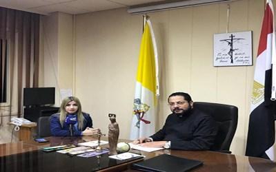 تعاون بين المكتب الإعلامي الكاثوليكي في مصر وقناة تيلي لوميار ونورسات