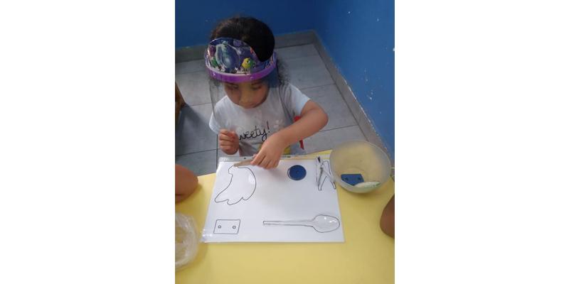 بعض أنشطة حضانة Montessori Child التابعة لمكتب دياكونيا للتنمية